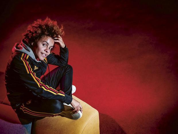 Kassandra Missipo (Red Flames): 'Ik word een pitbull genoemd... een compliment'
