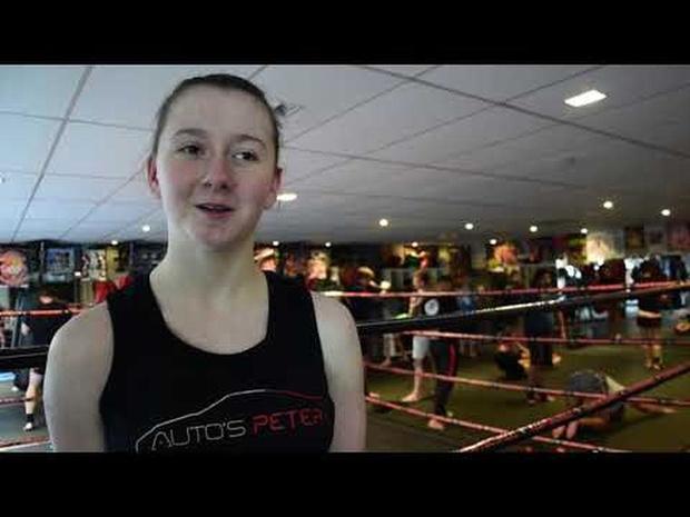 Axana uit Heule is Belgisch kampioene Muay Thai