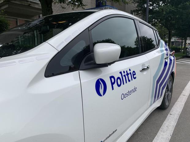 Twee ongevallen in Oostende: beide bestuurders blazen positief