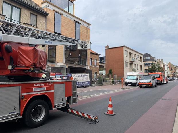 Oostendse brandweer en politie hebben handen vol met storm