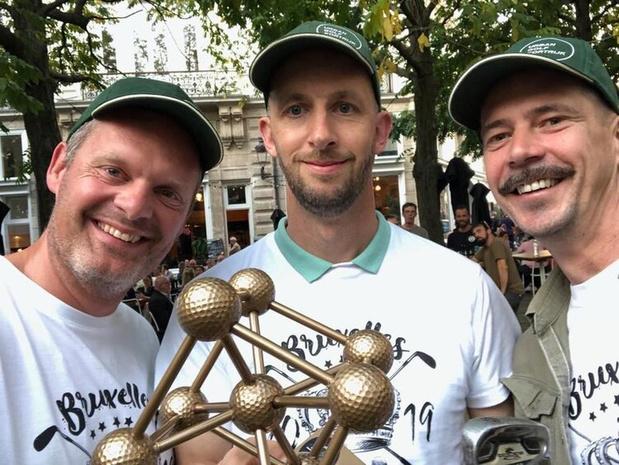 Trio Kortrijkzanen pakt Belgische titel in Urban Golf