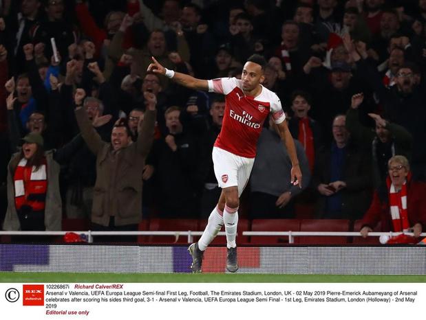 Arsenal rekent op de doelpuntenhonger van Pierre-Emerick Aubameyang
