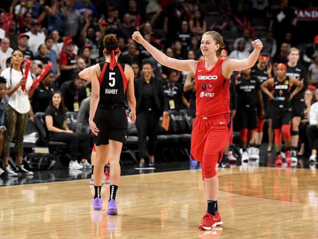 Emma Meesseman met Washington Mystics naar WNBA-finale, zelfs Lebron James lyrisch