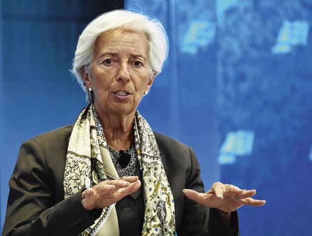 """Christine Lagarde (BCE) préfère """"l'emploi"""" à """"une épargne protégée"""""""