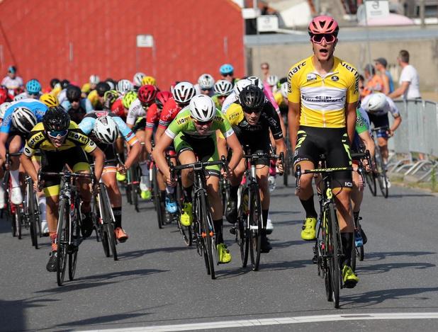 Twee op drie voor de Letse kampioen Tom Ustups in West-Vlaanderen Cycling Tour