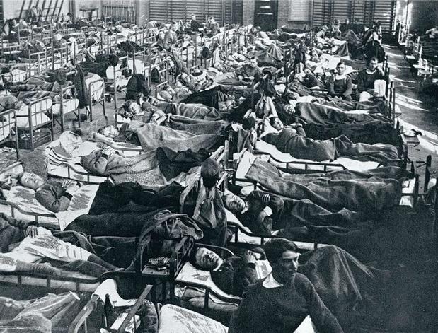 La grippe espagnole, la grande oubliée de l'armistice