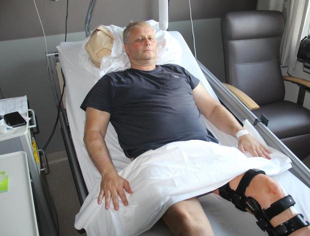 """Filip Claeys overleeft val van 50 meter in ravijn: """"App van Maggie De Block heeft mijn leven gered"""""""