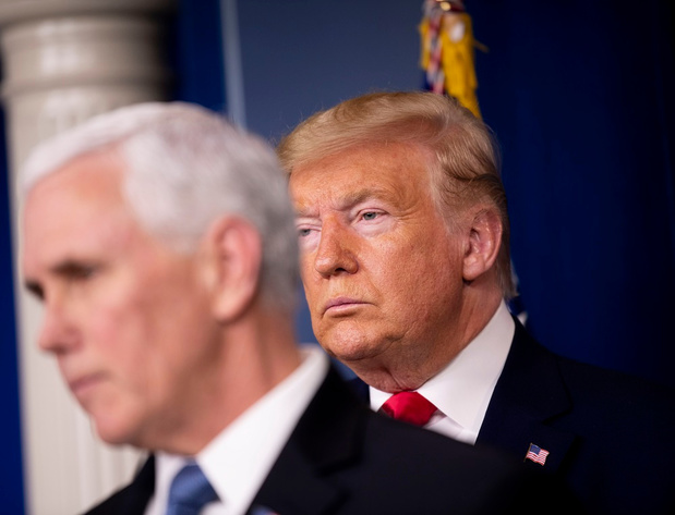 Entre Trump et Pence, la rupture