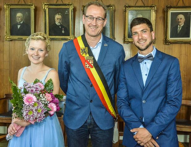 Laatste huwelijk voltrokken in oud gemeentehuis Geluwe