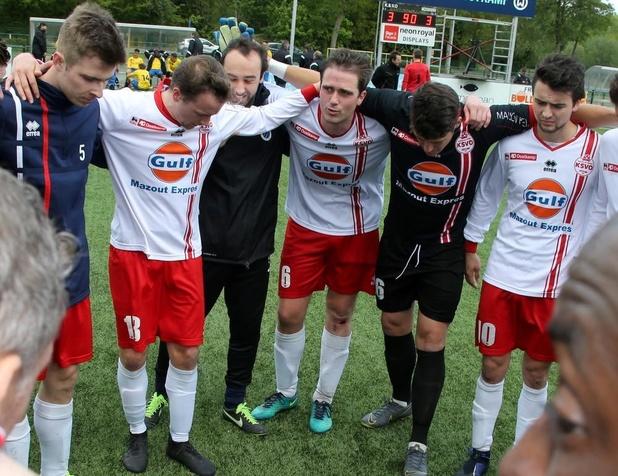 KSV Oostkamp supportert voor KSV Oudenaarde