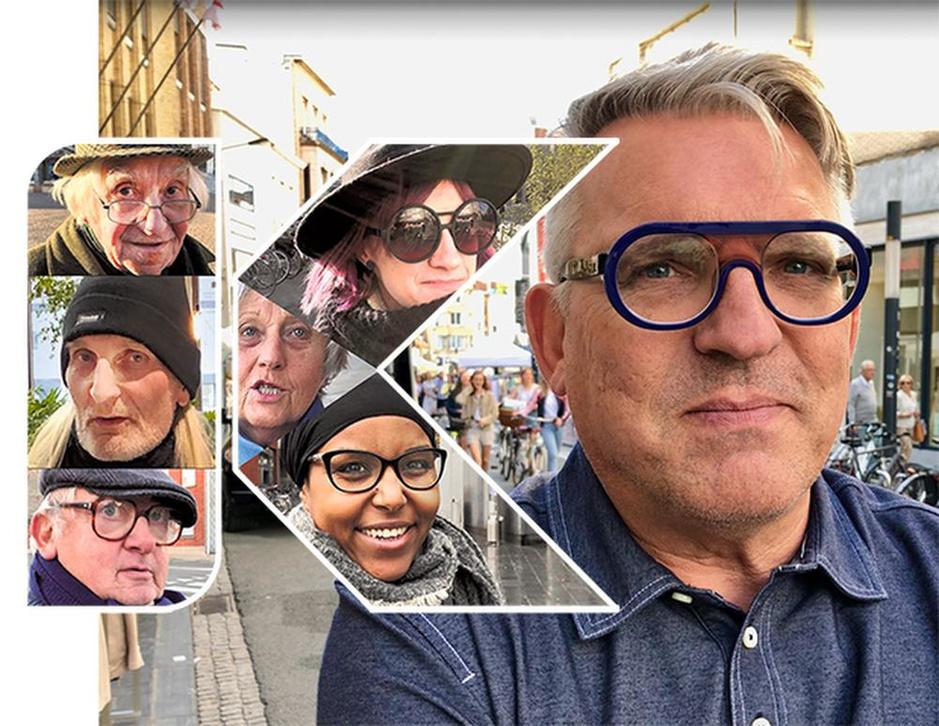 """Baksteenontwerper Jan Vanthuyne: """"In Kortrijk springt er geen enkel gebouw uit"""""""