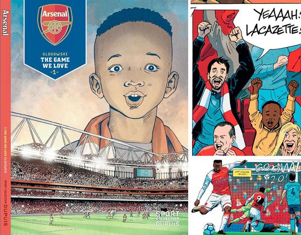 Dupuis prépare des BD sur Arsenal, Lyon, Barcelone et...le Standard