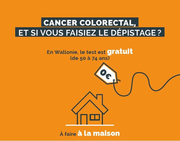 Cancer colorectal : appel au dépistage