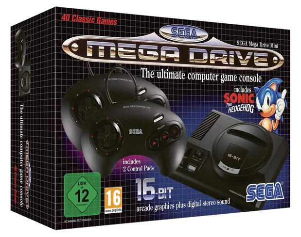 Mega Drive Mini: le mea culpa de Sega