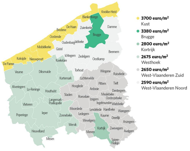 De Westhoek incasseert een prijstik
