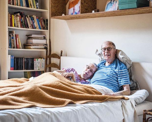 Tussen de lakens bij André en Hilde: 'Ze leerde me dat ik niet beschaamd moet zijn over mijn versleten lichaam'