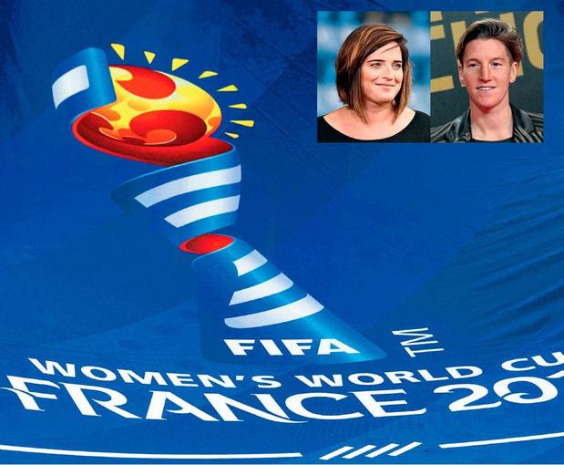 Cécile de Gernier et Aline Zeler vont mettre le foot féminin à l'honneur