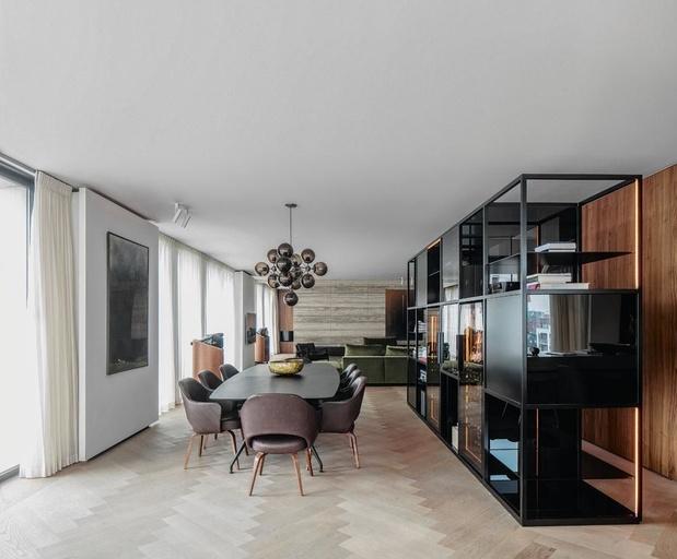 En images: un loft façon new-yorkaise, avec vue sur l'Escaut