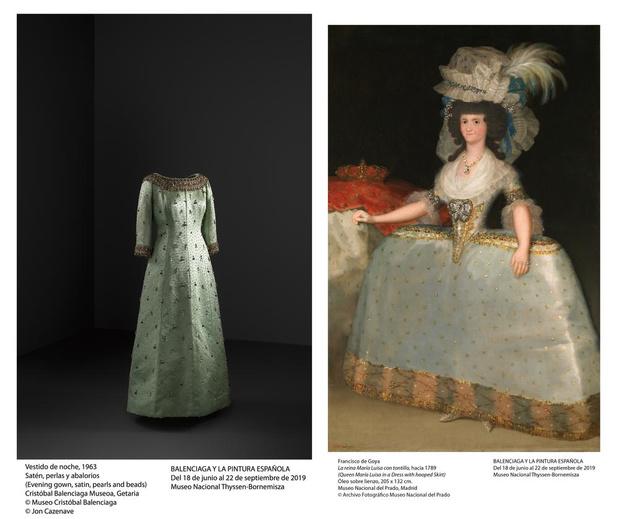 A voir à Madrid: Balenciaga et les maîtres de la peinture espagnole