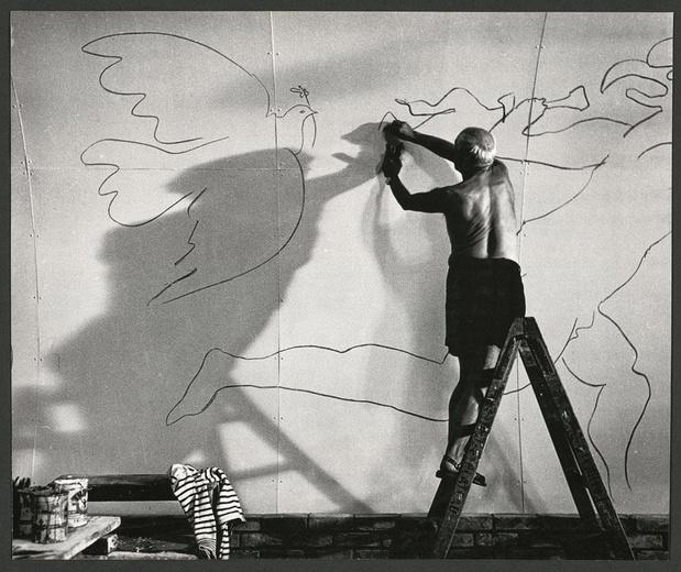 Picasso, entre textes et images