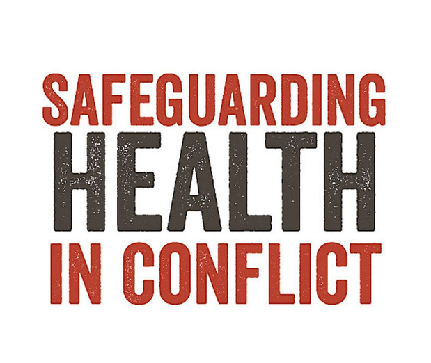 Qui est Safeguarding Health in conflict ?