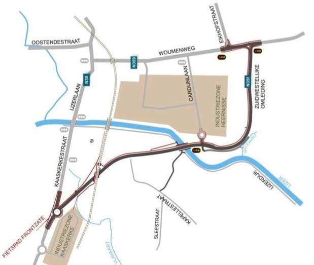 Grote stap vooruit in project zuidwestelijke omleidingsweg Diksmuide