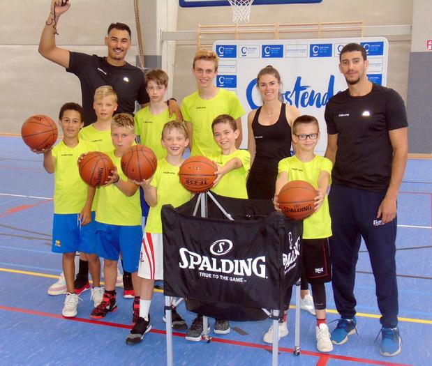 Basketstage in Oostende met ex-BCO-speler Khalid Boukichou