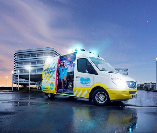 AZ Zeno lanceert 'Ambulance Ambiance' voor sollicitanten