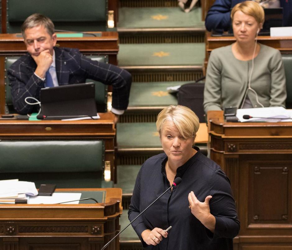 """Nathalie Muylle na haar eerste week als minister: """"Ik heb geen seconde getwijfeld"""""""