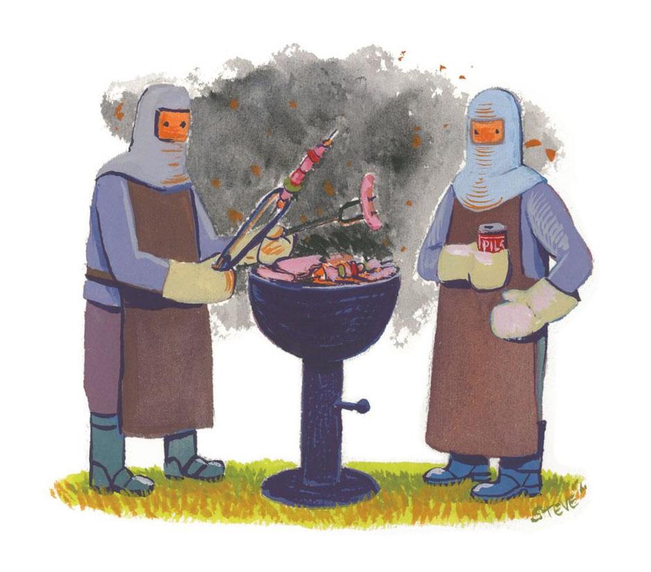Factchecker: 'Wie barbecuet neemt giftige stoffen uit rook op via de huid'
