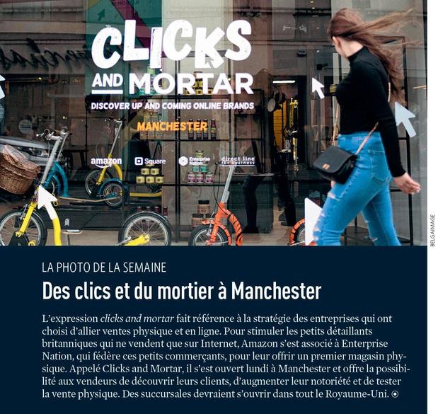 Des clics et du mortier à Manchester