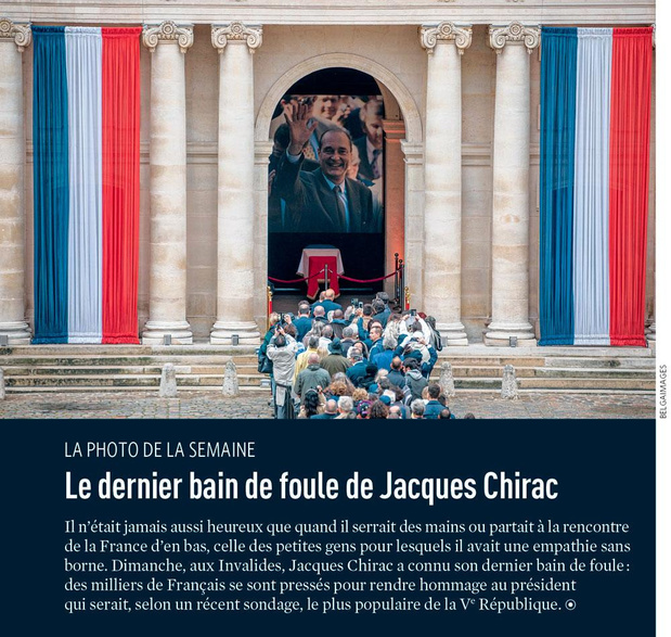 Le dernier bain de foule de Jacques Chirac