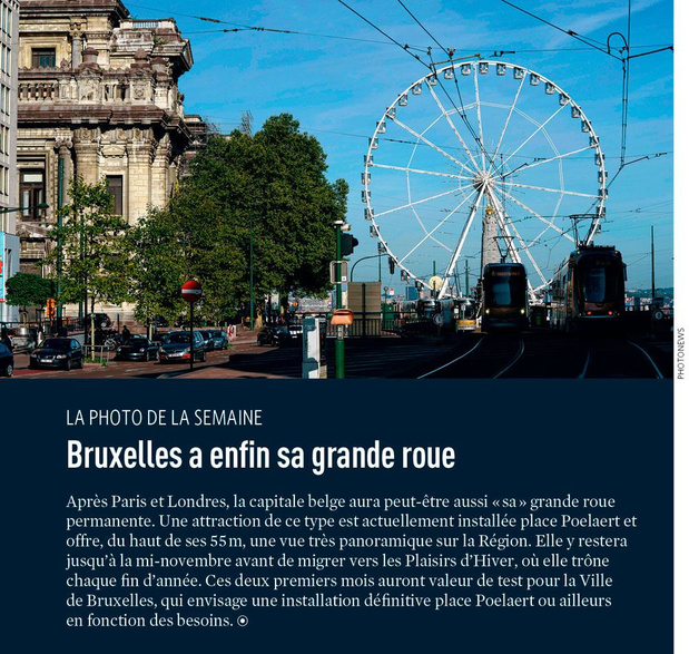 Bruxelles a enfin sa grande roue