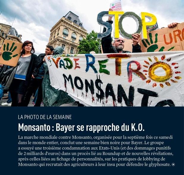 Monsanto : Bayer se rapproche du K.O.