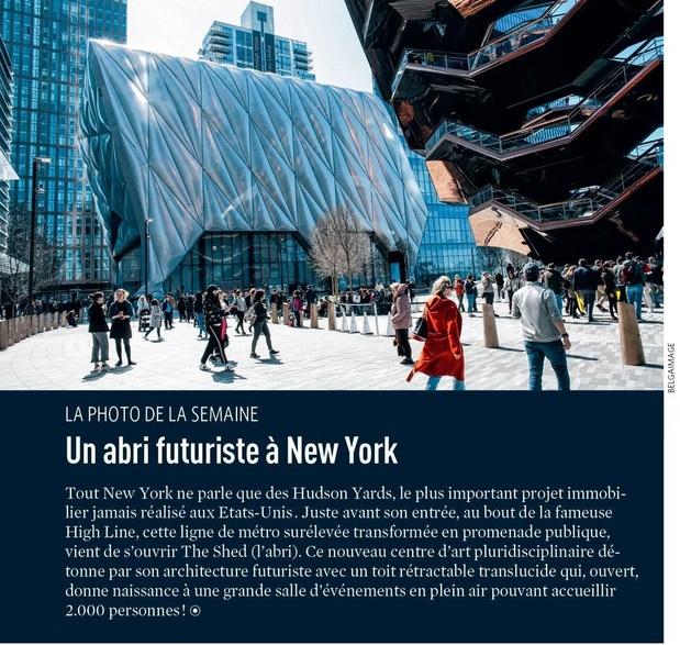Un abri futuriste à New York