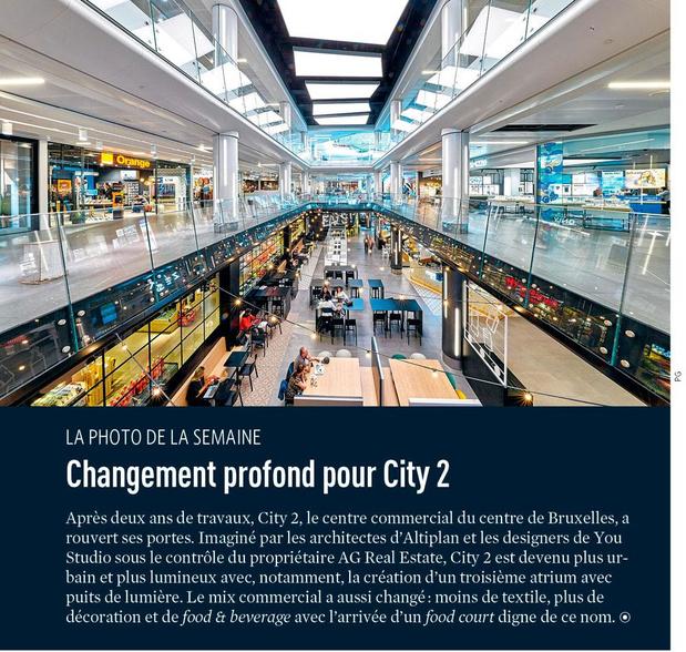 Changement profond pour City 2