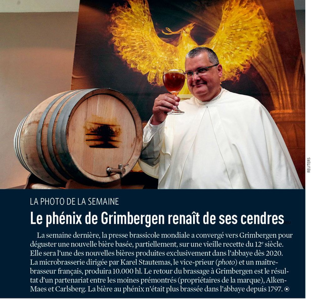Le phénix de Grimbergen renaît de ses cendresreu