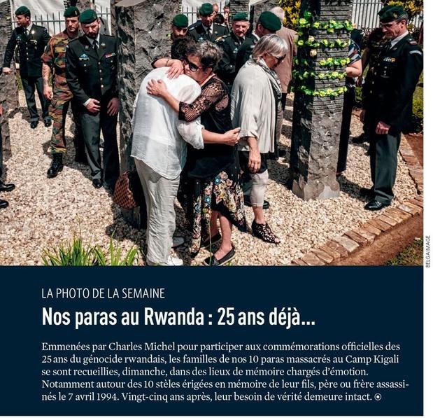 Nos paras au Rwanda : 25 ans déjà...