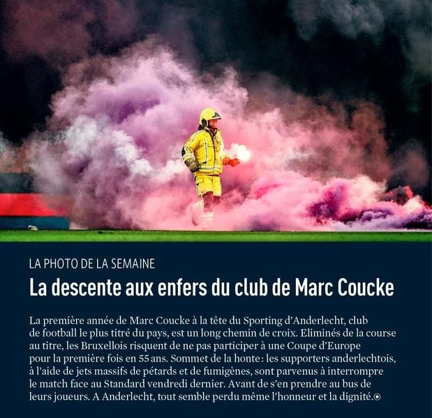 La descente aux enfers du club de Marc Coucke