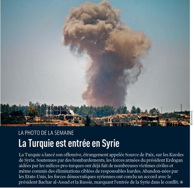 La Turquie est entrée en Syrie