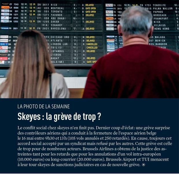 Skeyes : la grève de trop ?