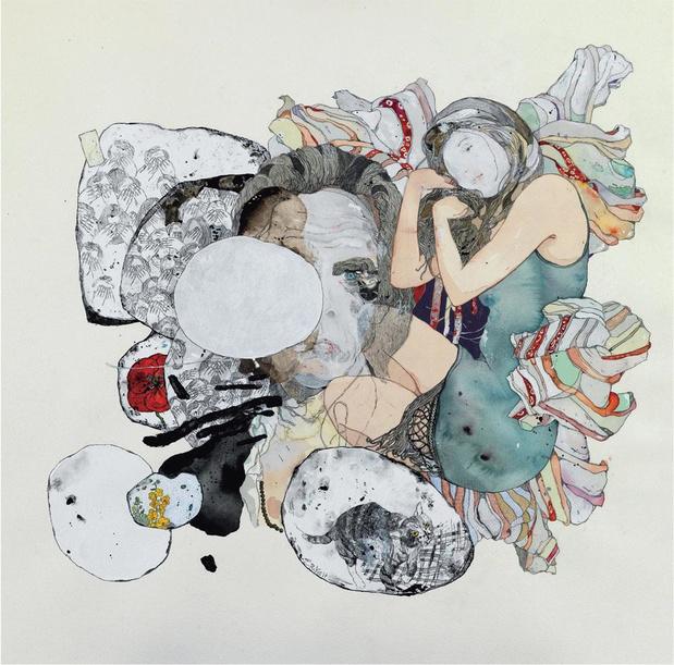 Stefanos Roko exposeert in Antwerpen: 'Nick Cave zingt wat ik wil schilderen'