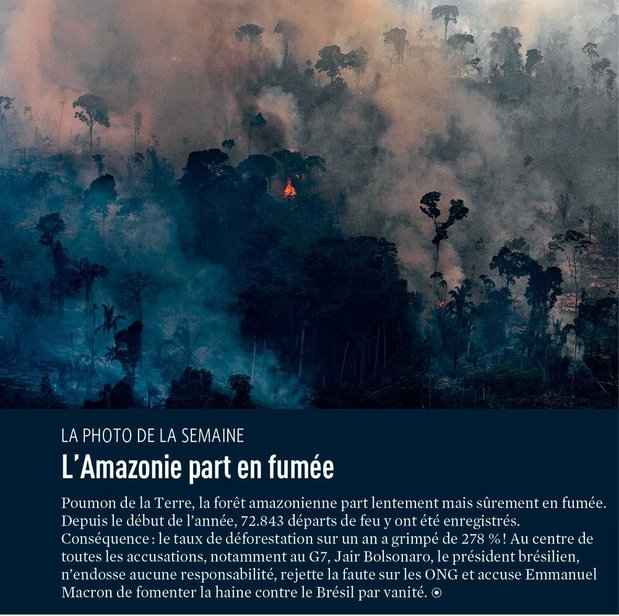 L'Amazonie part en fumée