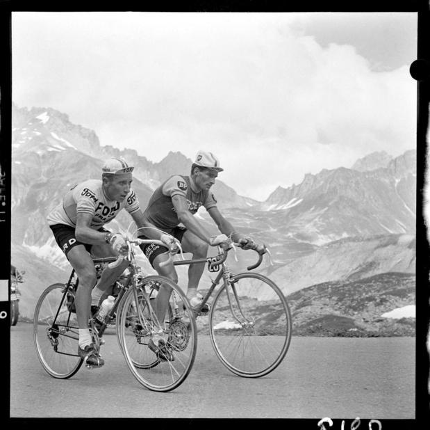Poulidor werd populair door Anquetil