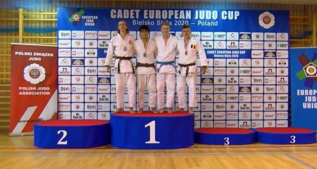Schitterende prestaties voor Judoteam Internationaal Roeselare