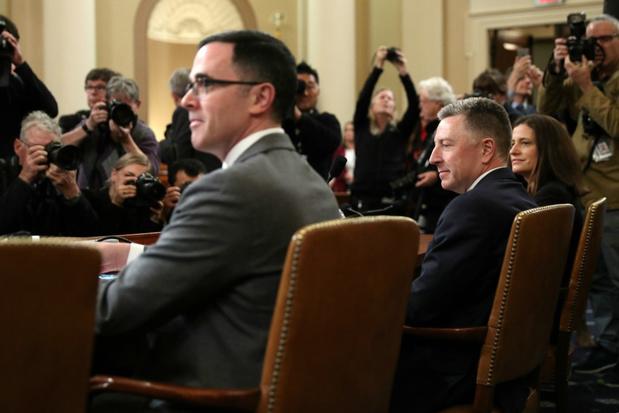 Impeachment-onderzoek: 'Ik trok scherpe lijn tussen onderzoek naar Burisma en de Bidens'