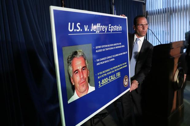 Epstein werd niet scherp in de gaten gehouden