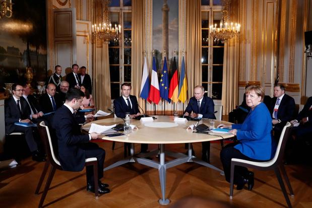 Poetin en Zelensky komen tot akkoord over staakt-het-vuren in oosten Oekraïne