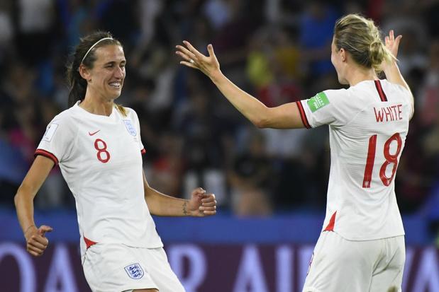 WK Vrouwen: Engeland mag als eerste naar halve finales