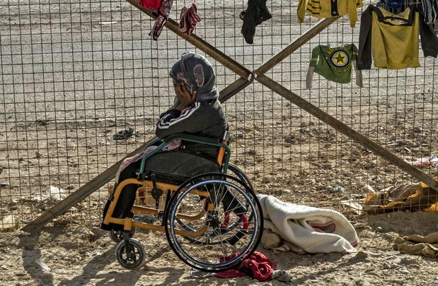 Dans un camp de Syrie, des orphelins de l'EI traumatisés à la charge de Kurdes démunis